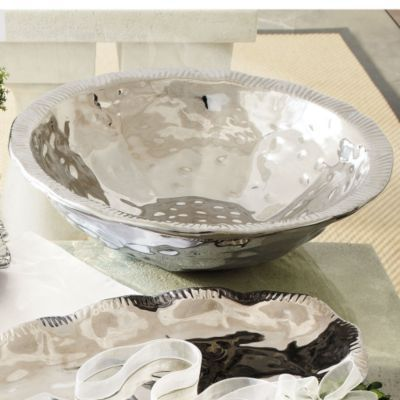Luxe Ruffled Serving Bowl