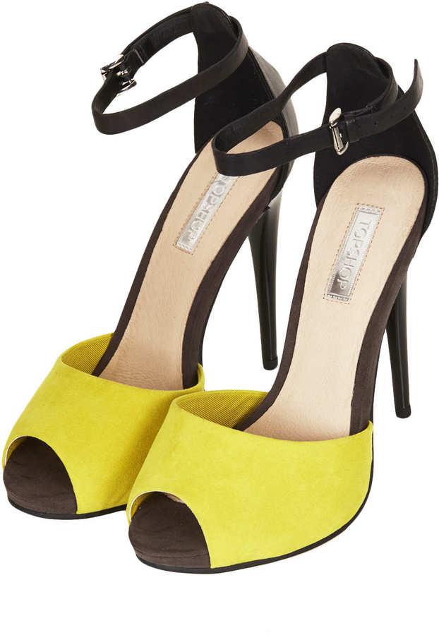 Topshop RIO 2-Part Simple Sandals