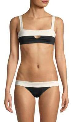L-Space LSpace Turlington Reversible Keyhole Bikini Top