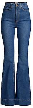 Alice + Olivia Jeans Jeans Women's Beautiful High-Rise Bell Bottom Jeans