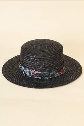 31 Sons De Mode (トランテアン ソン ドゥ モード) - トランテアン ソン ドゥ モード 柄リボンカンカン帽