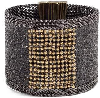CYNTHIA DESSER Wide Shimmer Stingray Bracelet