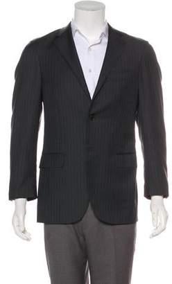 Barneys New York Barney's New York Wool Notch-Lapel Blazer
