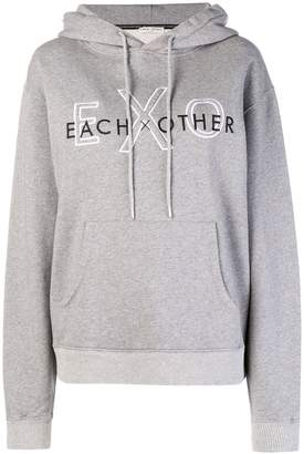 Each X Other logo print hoodie