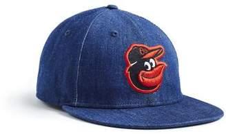 Todd Snyder + New Era + NEW ERA MLB BALTIMORE ORIOLES CAP IN CONE DENIM