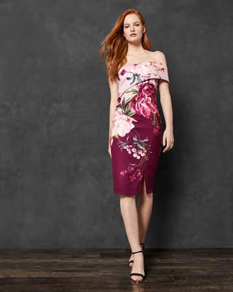 Ted Baker IRLINA Serenity one shoulder dress