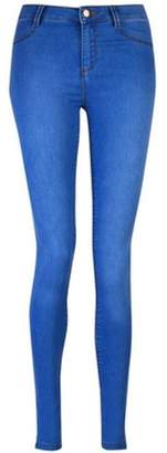 Dorothy Perkins Womens Bright Blue 'Frankie' Super Skinny Jeans