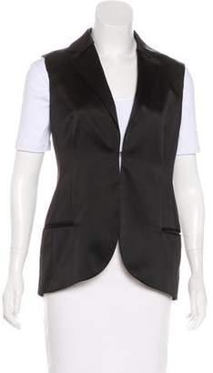 Akris Silk Tailored Vest