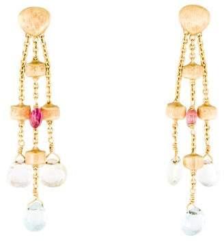 Marco Bicego 18K Multistone Paradise Drop Earrings
