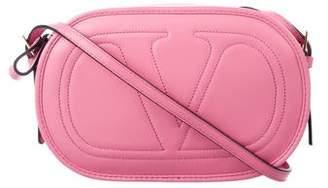Valentino Leather Logo-Go Crossbody