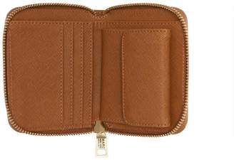 Andrew Marc BRIARWOOD SMALL SAFFIANO LEATHER WALLET