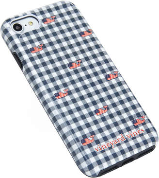 Vineyard Vines Gingham with Flag Whale iPhone 7 / 8 Case