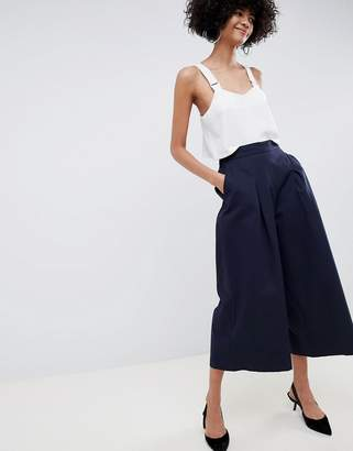 Asos basketball pants with pleat detail