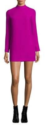 Carven Mockneck Shift Dress