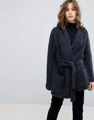 Selected Oversized Cardigan