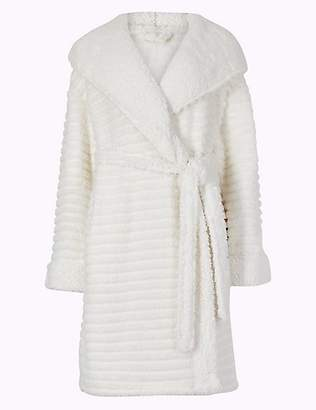 M&S Collection Fleece Novelty Hooded Dressing Gown