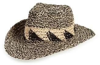 Caslon Marled Straw Cowboy Hat