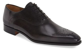 Men's Magnanni 'Whitney' Medallion Toe Oxford $435 thestylecure.com