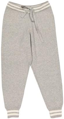 Zoe Jordan Grey Wool Trousers for Women