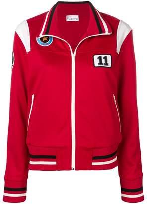 RED Valentino patch detailed sweatshirt