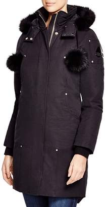 Moose Knuckles Stirling Fox Fur Down Parka $850 thestylecure.com