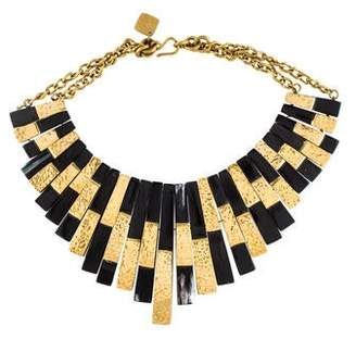 Ashley Pittman Horn Kifalme Collar Necklace
