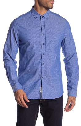 Heritage Geo Print Slim Fit Shirt