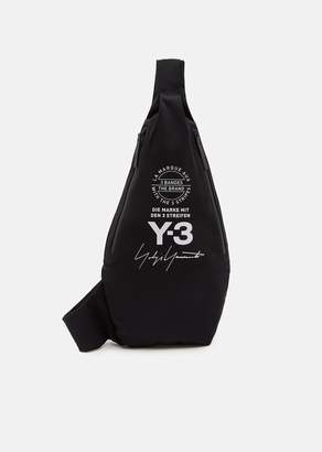 Y-3 Yohji Messenger Bag Black