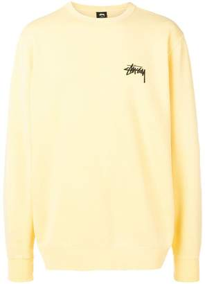 Stussy printed sweatshirt with logo