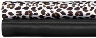 Betsey Johnson Betseys Leopard Satin Standard Pillowcase Pair Bedding