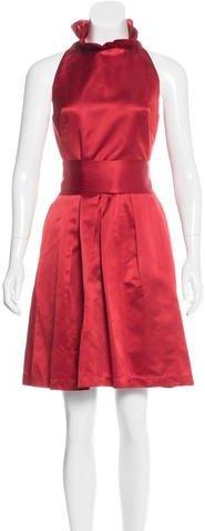 Kate SpadeKate Spade New York Satin A-Line Dress