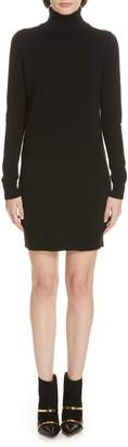 Theory Cashmere Turtleneck Sweater Dress