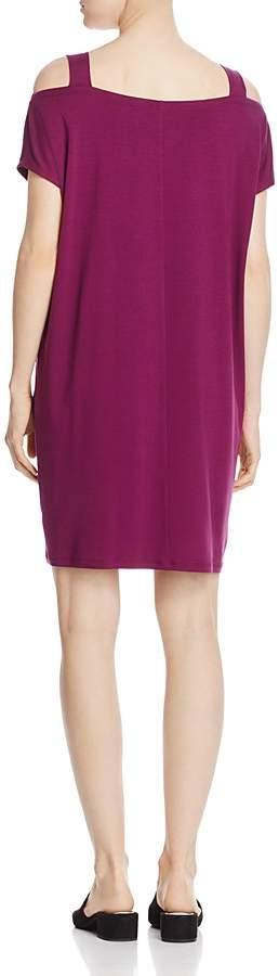 Eileen Fisher Cold-Shoulder Dress 2