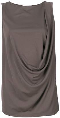 Fabiana Filippi draped sleeveless tank