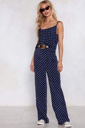 Nasty Gal Just a Drop in the Ocean Polka Dot Pants