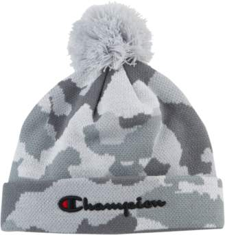 Champion Script Knit Pom Beanie - Adult