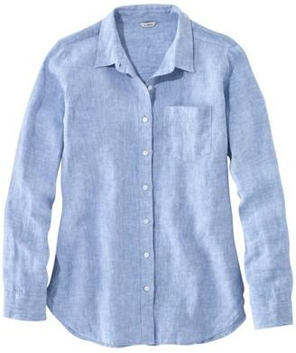 e8a8a48fecb22 L.L. Bean L.L.Bean Women s Premium Washable Linen Shirt