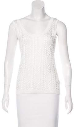 Brooks Brothers Sleeveless Knit Top