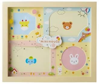 Mikihouse (ミキハウス) - ミキハウスベビー ラインストーン付きフォトフレーム(4枚用)【マルチカラー】【箱入】