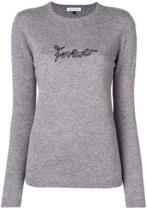 Bella Freud 'Forever' embroidered sweater