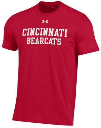 Under Armour Men Cincinnati Bearcats Performance Cotton T-Shirt
