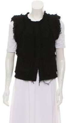 IRO Frayed Knit Vest