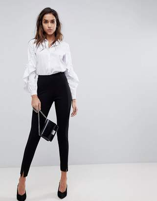 Missguided Skinny Fit Cigarette Trousers