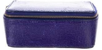 Smythson Leather Vanity Case