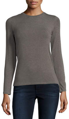 Neiman Marcus Majestic Paris for Soft Touch Crewneck Top