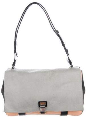 Proenza Schouler Ponyhair & Leather Shoulder Bag