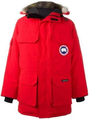 Canada Goose zipped parka coat