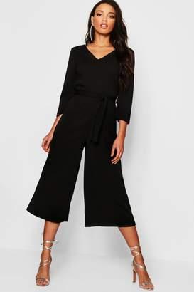 d9adae1c805 Long Sleeves Wide Leg Jumpsuit - ShopStyle UK