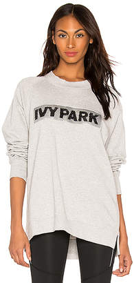 Ivy Park Sequin Brush Logo Sweatshirt