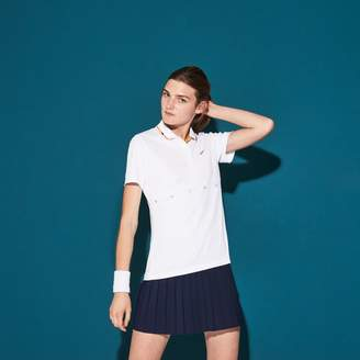 Lacoste Women's SPORT Collar Pique Tennis Polo